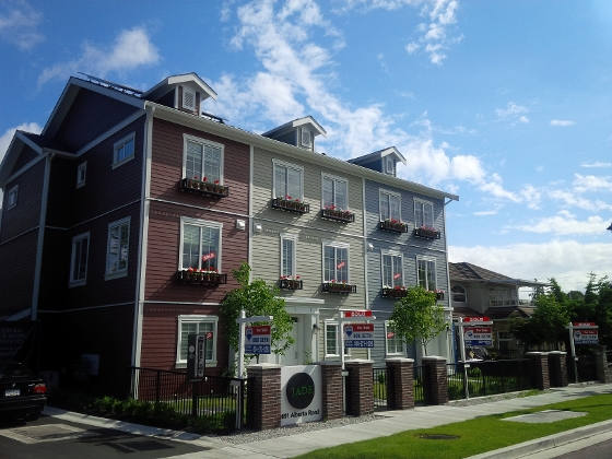 New homes in Richmond, BC