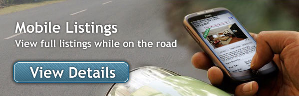 Mobile Listings - View full listings while on the road